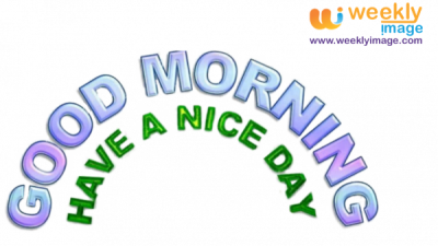 Good Morning PNG Pic