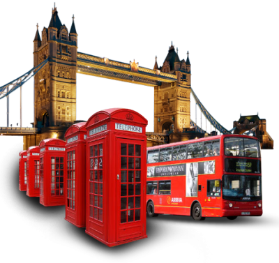 London Transparent Background