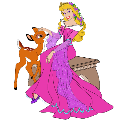 Princess Aurora Transparent