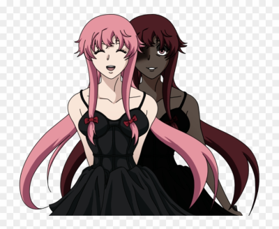 Anime Wallpaper Mirai Nikki - Transparent Yuno Gasai, HD Png ...