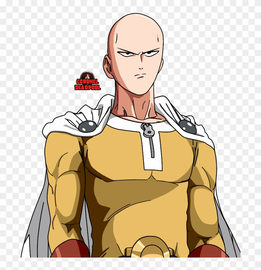 Serious Saitama One Punch Man , Png Download - One Punch Man Png ...