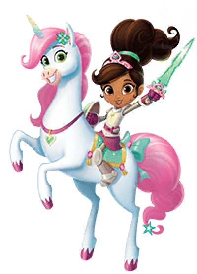 nella-the-princess-knight-on-trinket-the-unicorn