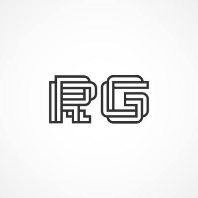 initial Letter RG Logo Template Template for Free Download on Pngtree