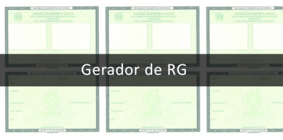 Full RG generator, valid for testing only [⚡ATUALIZED]