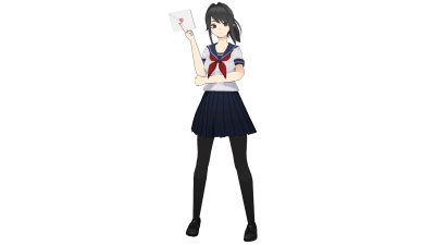 Yandere-Chan in the Danganronpa Artstyle! (By Me) : yandere_simulator