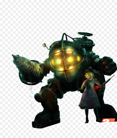 BioShock: The Collection Big Daddy Rendering - bioshock png ...