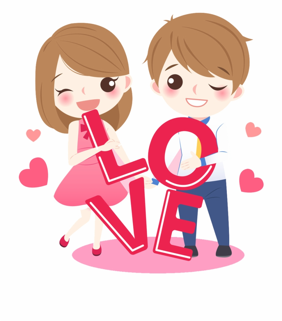 Download Free Png Lovely Couple Transprent Png Cartoon Love Png
