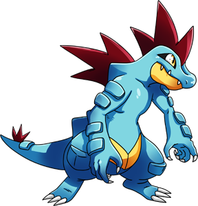Pokemon 2160 Shiny Feraligatr Pokedex: Evolution, Moves, Location ...