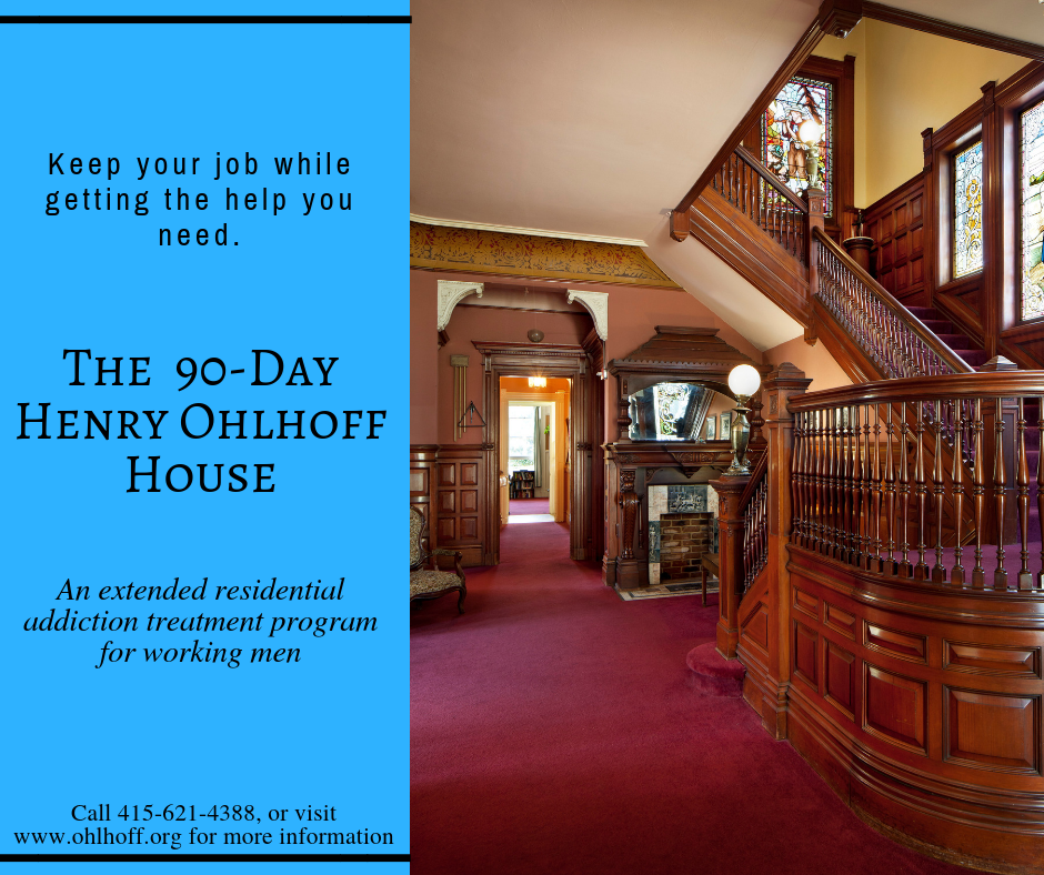 The Philosophy of Working Men's Program — Ohlhoff Recovery Programs