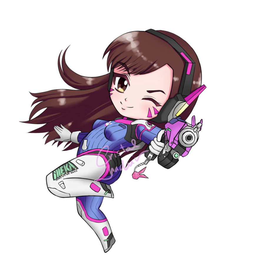 Collection of free D.va transparent chibi. Download on UI Ex