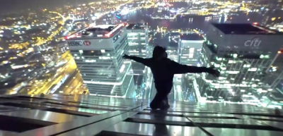 YouTubers Sneak Into Canary Wharf And Climb To The Top - LBC