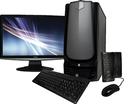 Desktop Computer PNG Download Free