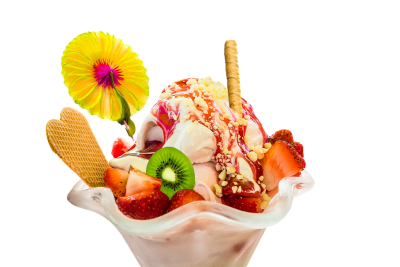Ice Cream Sundae Free Clipart HQ