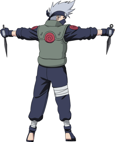 Kakashi Transparent Background