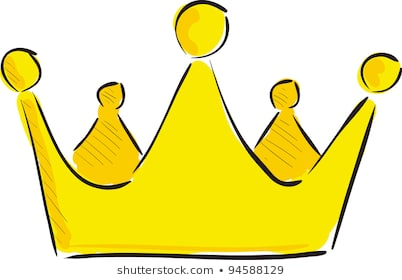 Cartoon Crown Images, Stock Photos & Vectors | Shutterstock