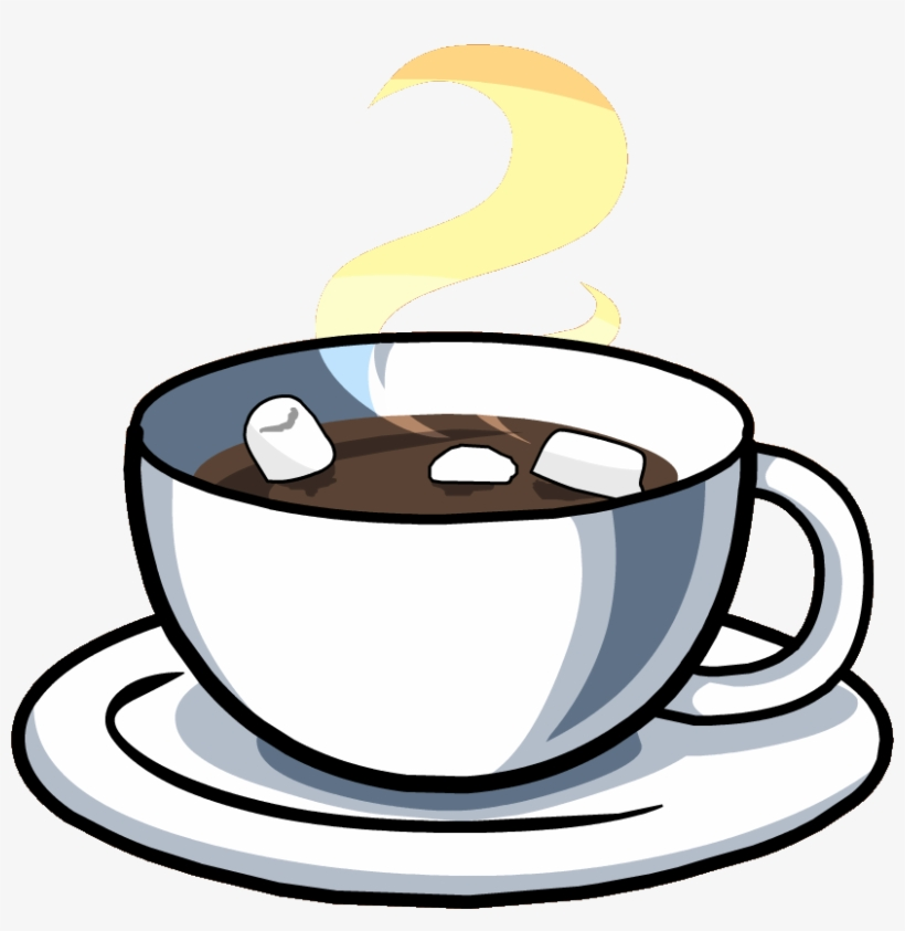Hot Chocolate Cup Cutout - Hot Chocolate Transparent PNG - 824x807 ...