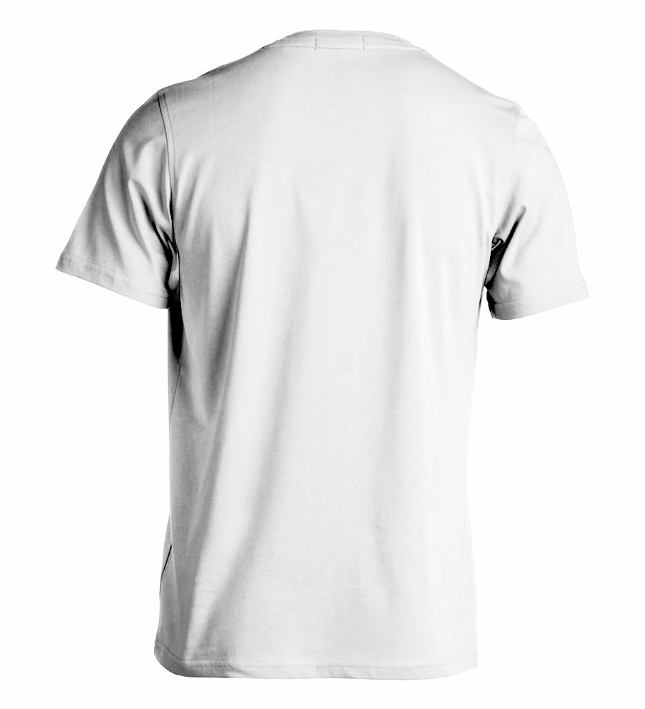 White Shirt Template Png - White T Shirt Template Back Free PNG ...