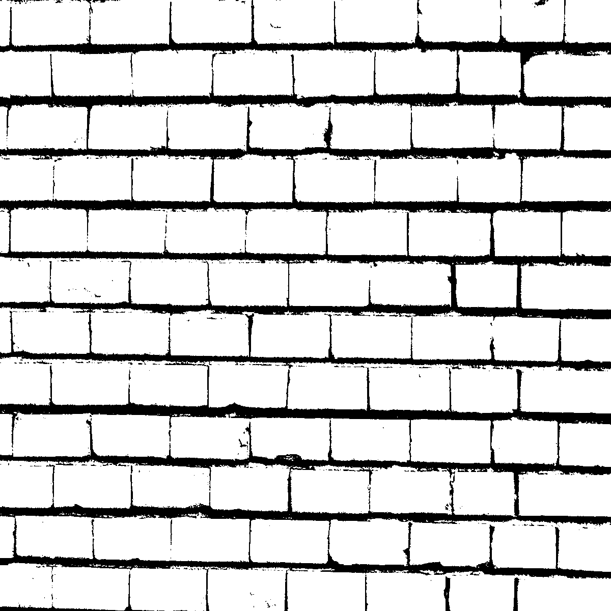 Brick Wall in Black and White Textures (PNG) | OnlyGFX.com