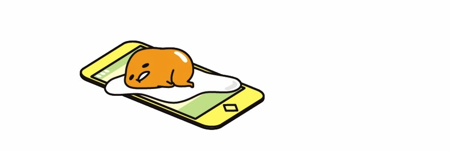 Com Gudetama Png Cute Egg Sticker Transparent Free PNG Images ...