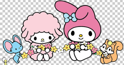 Hello Kitty My Melody Sanrio PNG, Clipart, Animal Figure, Area ...