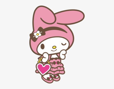 5th My Melody - My Melody Sanrio Png Transparent PNG - 398x560 ...