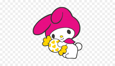 My Melody Hello Kitty - my vector png download - 518*518 - Free ...