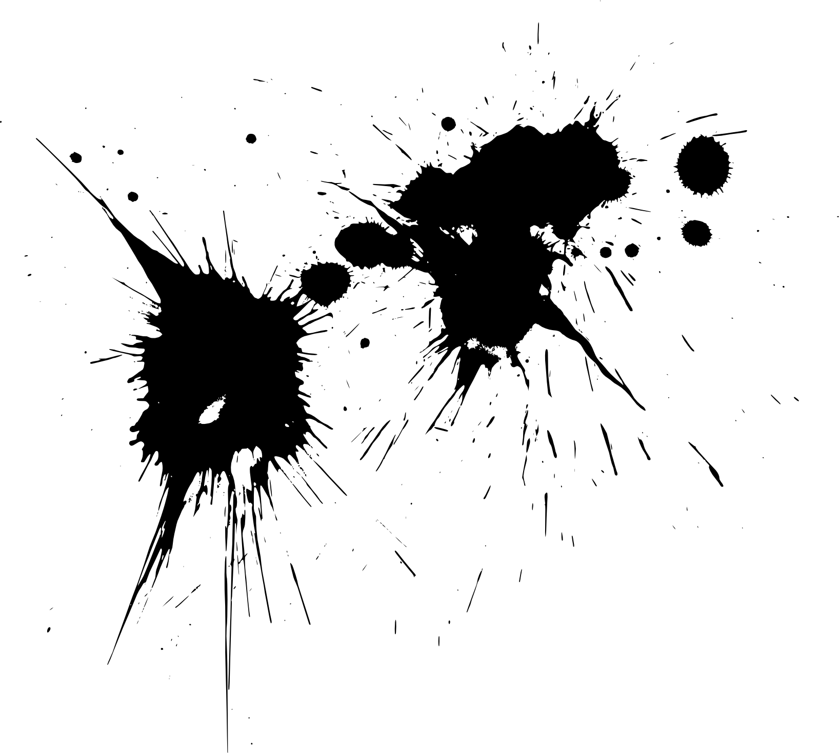 18 Paint Splatters (PNG Transparent) | OnlyGFX.com