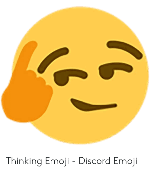 Thinking Emoji - Discord Emoji | Emoji Meme on ME.ME