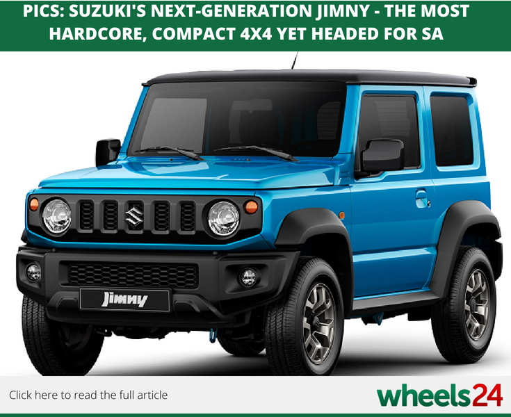 PICS: Suzuki's next-generation Jimny - the most hardcore, compact ...