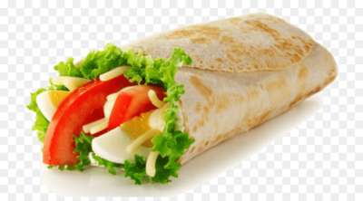 Veggie burger Wrap Hamburger Vegetarian cuisine Fast food - wrap ...