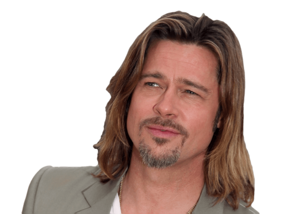 Brad Pitt transparent PNG - StickPNG