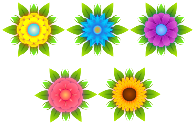 Flowers Vectors Free Download Png