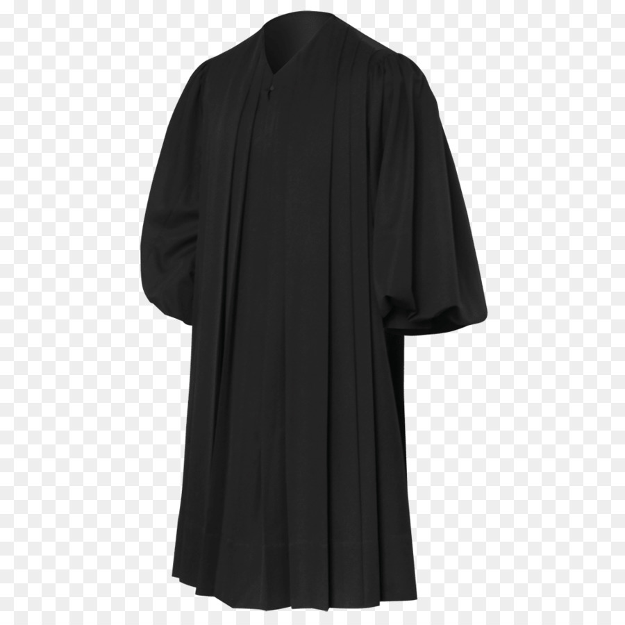 Robe Clothing Dress Cardigan Coat - graduation gown png download ...