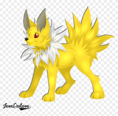 Jolteon - Cartoon, HD Png Download - 1024x964(#101167) - PngFind