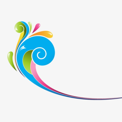 Color Decorative Swirls, Color Vector, Swirl, Colorful PNG and ...