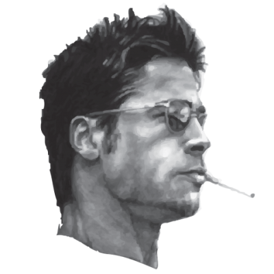 Brad Pitt Transparent Background PNG