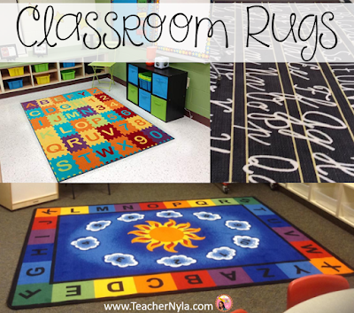 Nyla's Crafty Teaching: Classroom Rugs and Alternatives