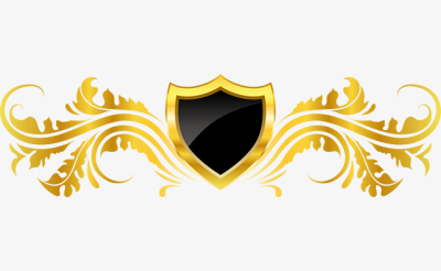 Vector European Decorative Golden Badge Design, Badge Vector ...