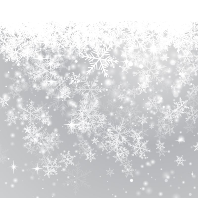 Fine Winter Snowflake Background Vector Material ...