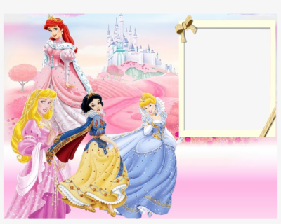 Walt Disney Princesses Kids Transpa Frame Gallery - Walt Disney ...