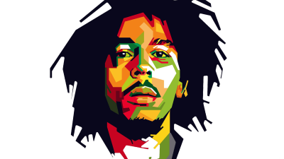 Bob Marley PNG High-Quality Image