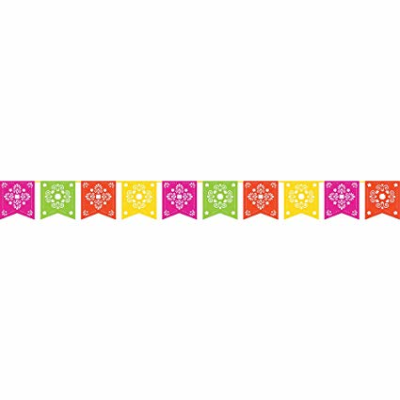 Amazon.com: Creative Converting 324359 Papel Picado Decorative ...