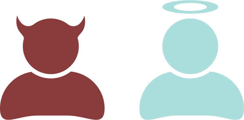 Download Free png Good and evil - DLPNG.com