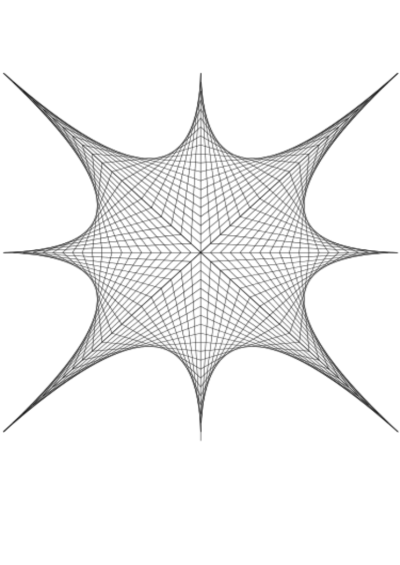 String Art, Bezier Curves, Picasso, and me | Blog on math blogs