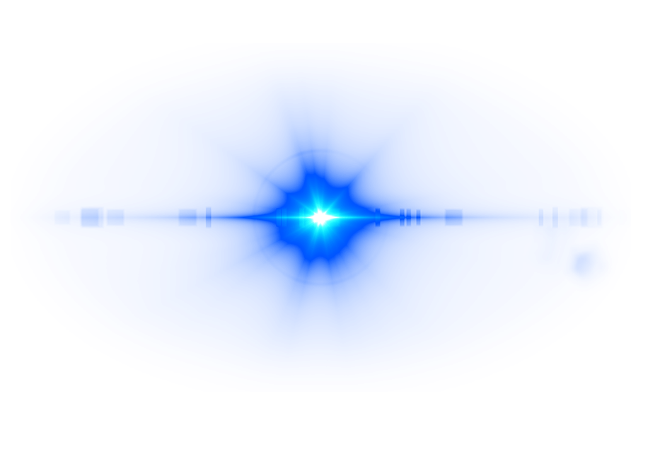 Deep Blue Lens Flare transparent PNG - StickPNG