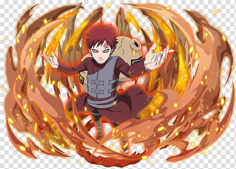 Gaara Jinchuriki of the One Tailed Shukaku transparent background ...