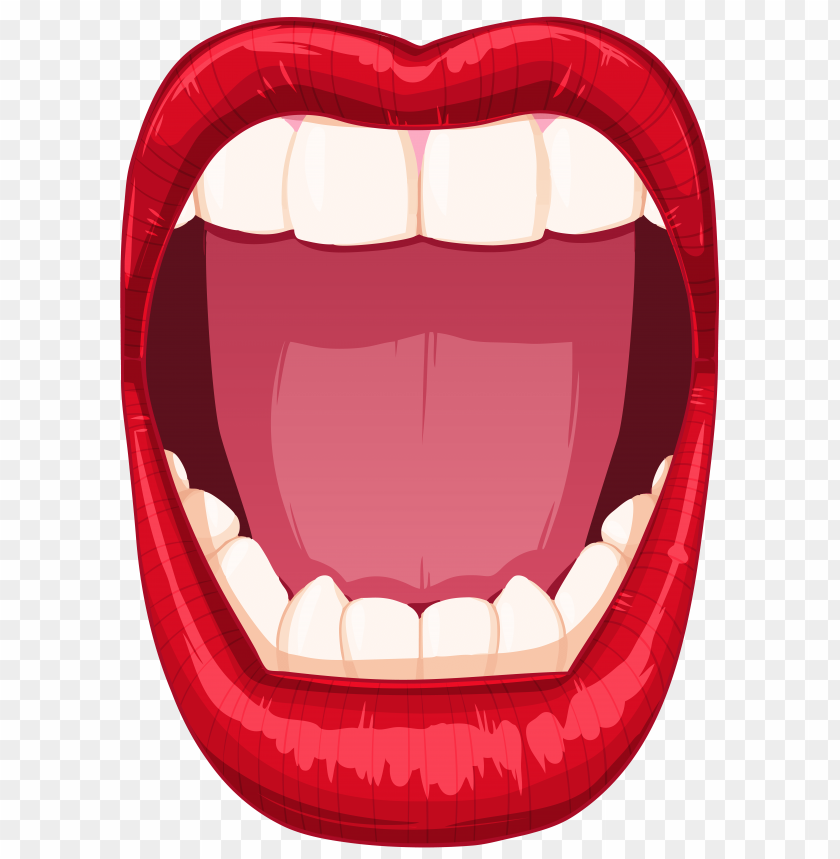 Download open mouth clipart png photo   TOPpng
