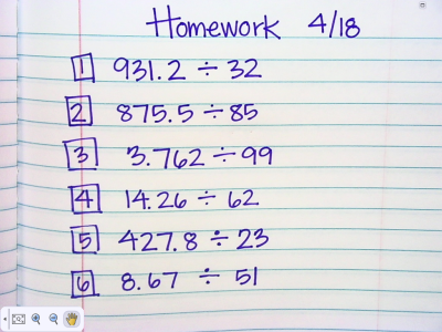 Nate Mack Fifth Grade - Homework and Assignments