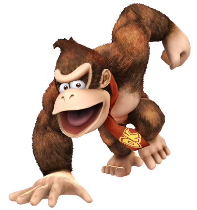 Donkey Kong PNG Image with Transparent Background