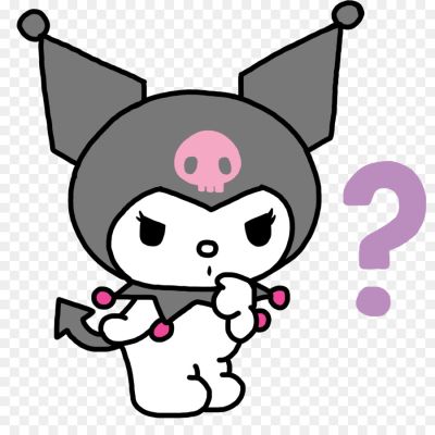 Hello Kitty My Melody Kuromi Sanrio Villain - others png download ...